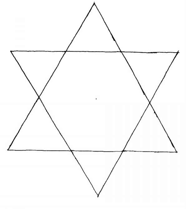 Jew Star Transparent Background
