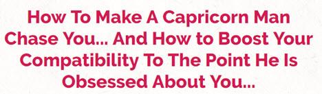 Man my capricorn How To